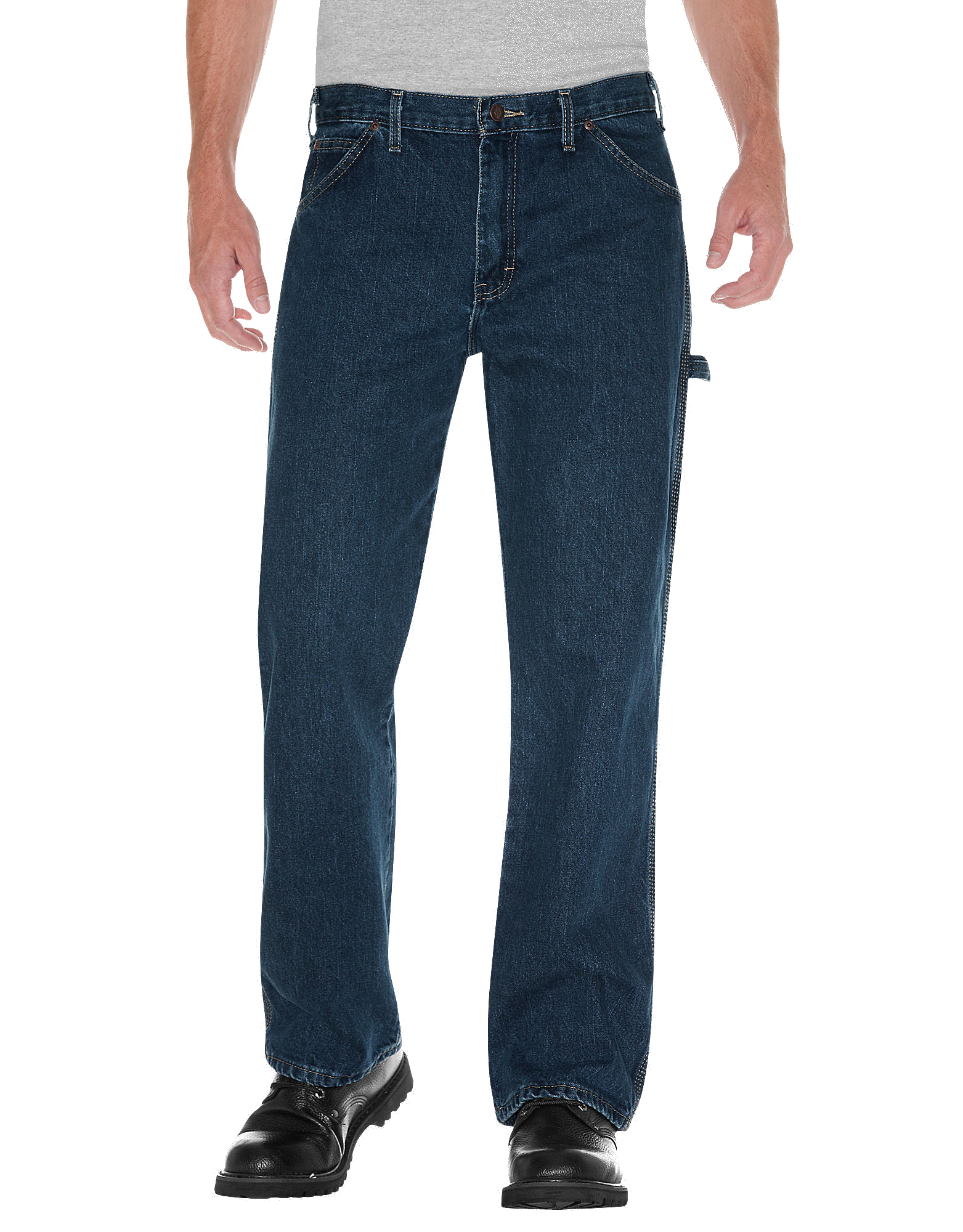 Loose Fit Denim Carpenter Jeans