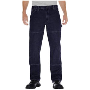 Relaxed Fit Double Knee Denim Carpenter Jeans