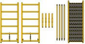 telescopic scaffolding extension