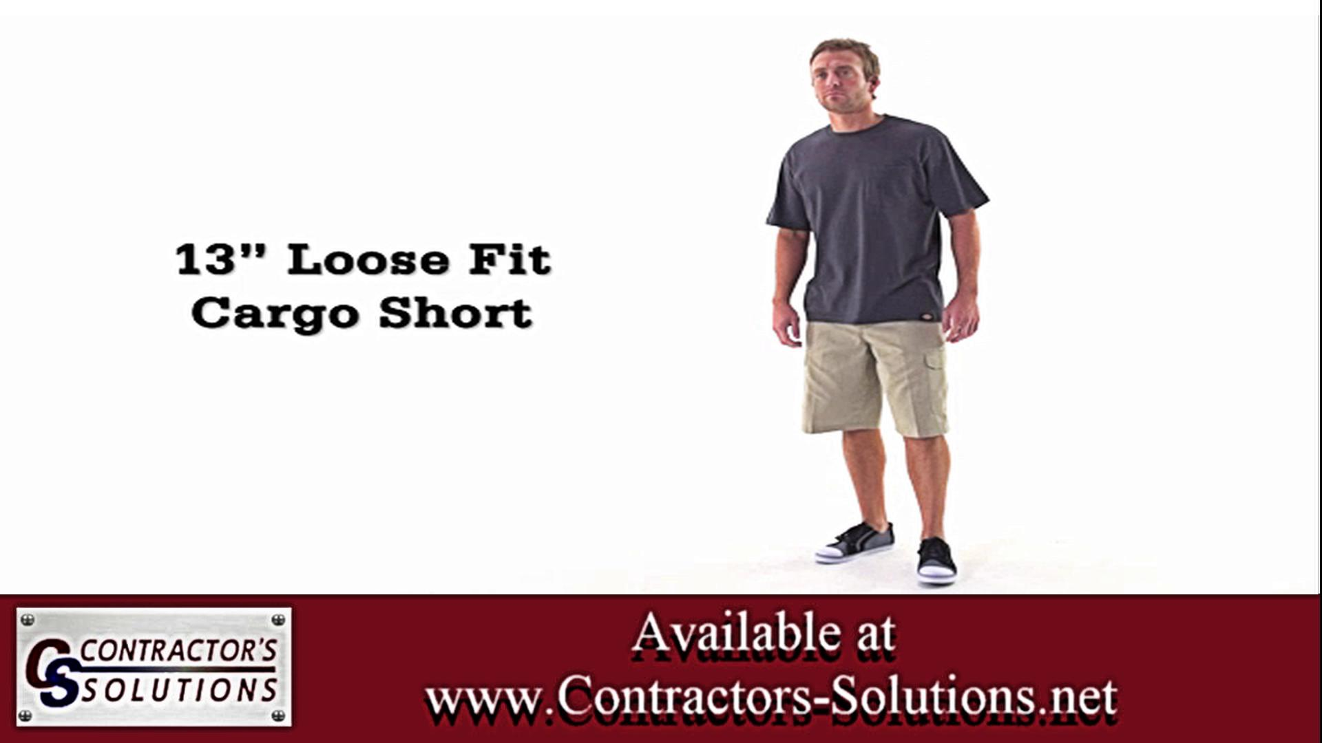 13-inch Loose Fit Cargo Shorts